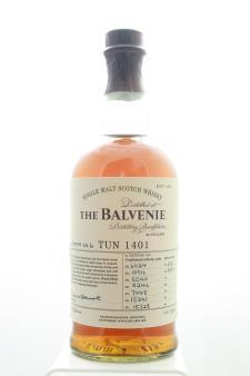 The Balvenie Single Malt Scotch Whisky Tun 1401 Batch No. 6 NV