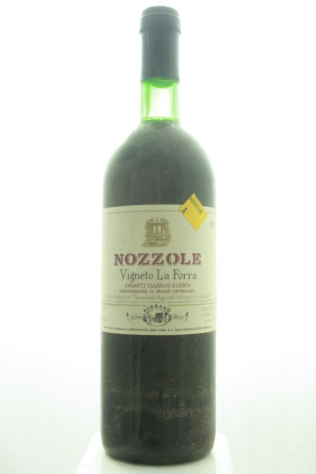 Nozzole Chianti Classico Riserva La Forra 1982