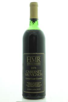 Hoffman Vineyards Cabernet Sauvignon HMR 1978