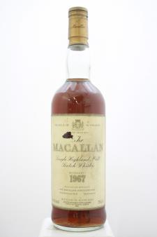 The Macallan Single Malt Highland Scotch Whisky 1967