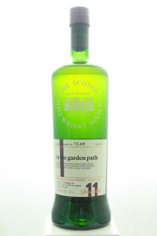 The Scotch Malt Whisky Society Single Malt Scotch Whisky Single Cask Up The Garden Path 11-Years-Old 2006