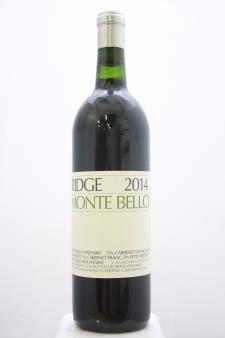 Ridge Vineyards Monte Bello 2014