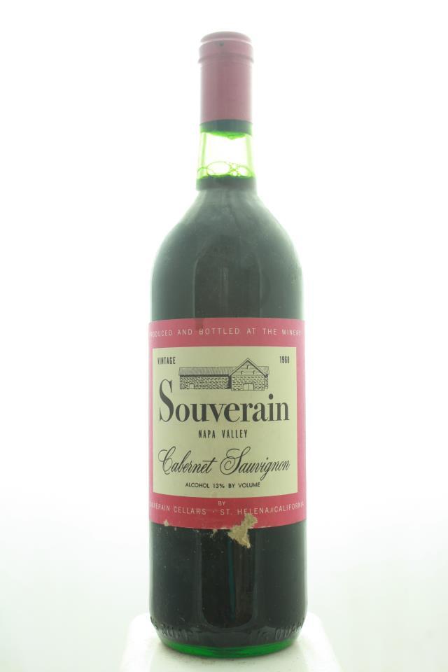 Souverain Cabernet Sauvignon 1968