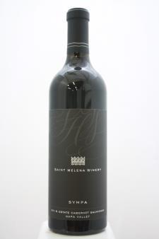 St. Helena Winery Cabernet Sauvignon Estate Sympa 2016