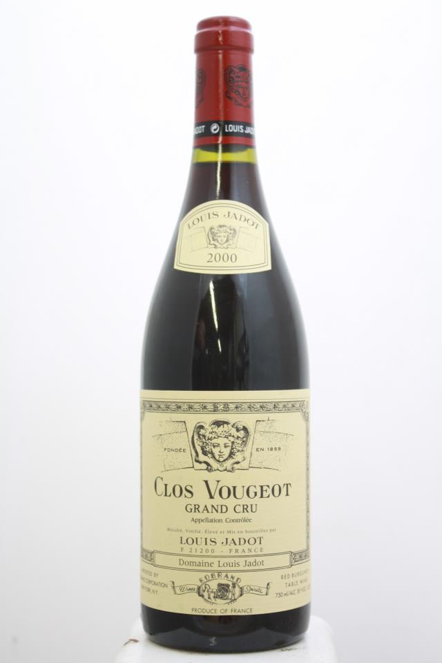 Louis Jadot (Domaine) Clos Vougeot 2000
