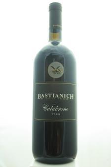 Bastianich Venezia Giulia Calabrone Rosso 2008