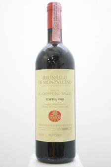Il Greppone Mazzi Brunello di Montalcino Riserva 1988