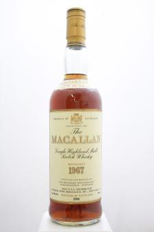 The Macallan Sherry Oak Cask Single Malt Highland Scotch Whisky 18-Year-Old 1967