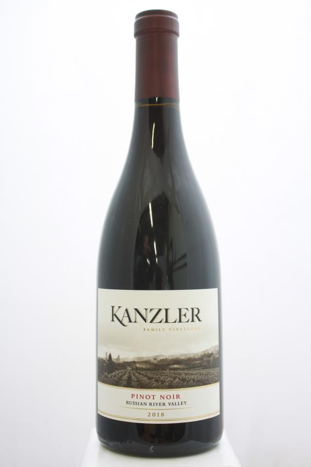 Kanzler Family Vineyards Pinot Noir Russian River Valley 2018