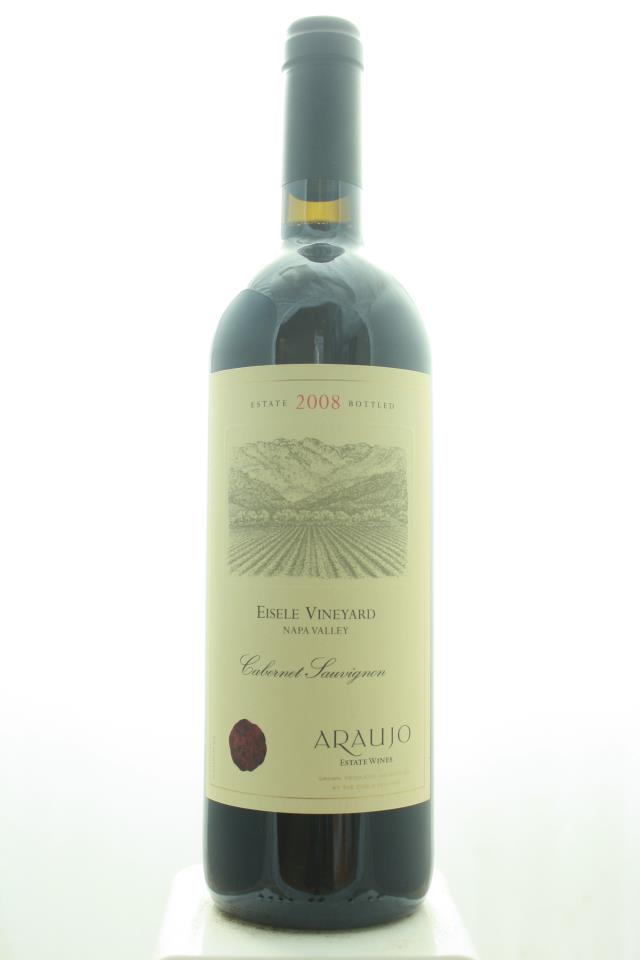 Araujo Estate Cabernet Sauvignon Eisele Vineyard 2008
