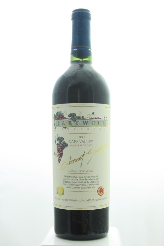 Hartwell Vineyards Cabernet Sauvignon Estate 1992