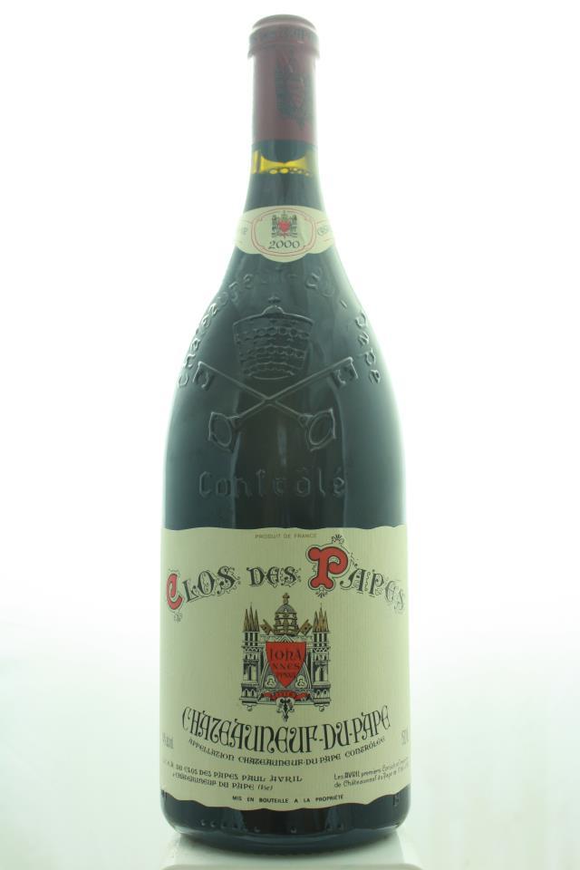 Clos des Papes Châteauneuf-du-Pape 2000