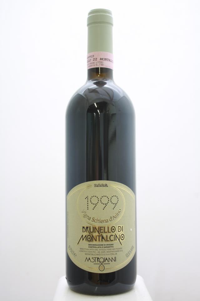 Mastrojanni Brunello di Montalcino 1999