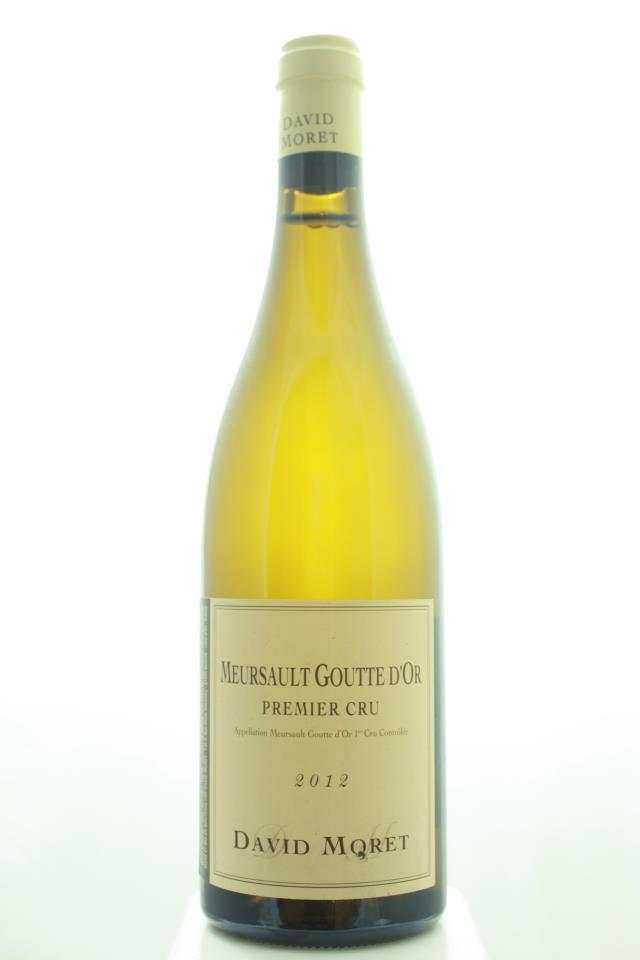 David Moret Meursault Les Gouttes d'Or 2012