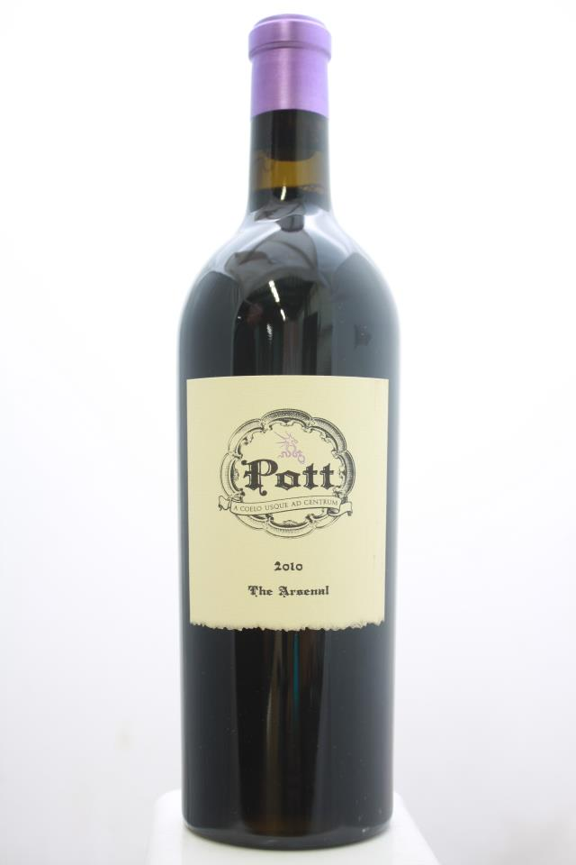 Pott Cabernet Sauvignon The Arsenal Greer Vineyard 2010