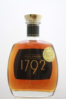 Barton 1792 Kentucky Straight Bourbon Whiskey Full Proof Single Barrel Select NV