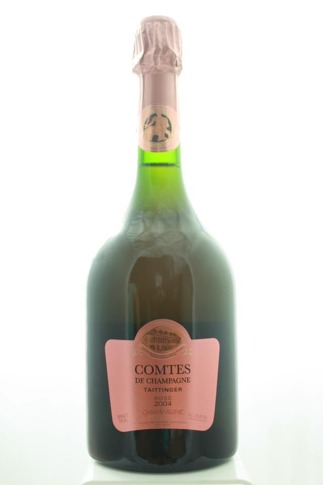 Taittinger Comte de Champagne Brut Rosé 2004