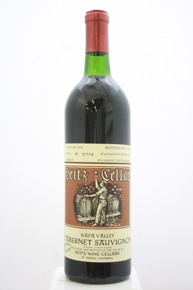 Heitz Cellar Cabernet Sauvignon Martha's Vineyard 1978