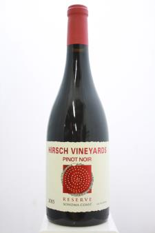 Hirsch Vineyards Pinot Noir Estate Reserve 2015
