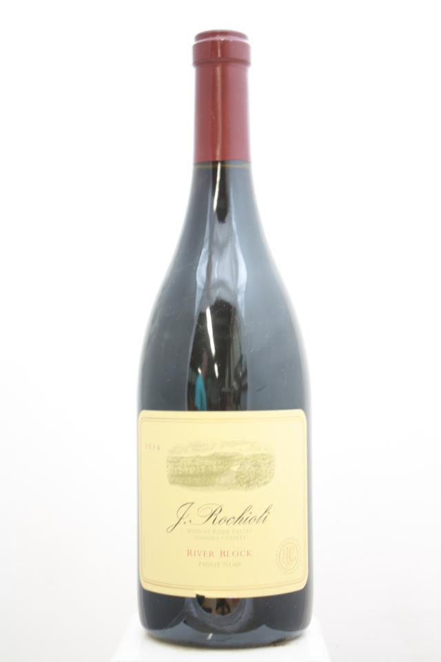 J. Rochioli Pinot Noir Estate River Block 2014