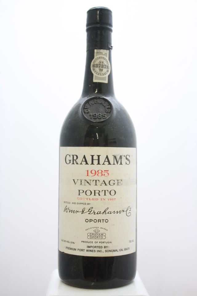 Graham's Vintage Porto 1985