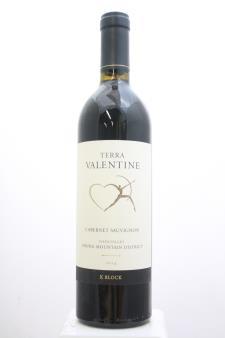 Terra Valentine Cabernet Sauvignon K Block 2014