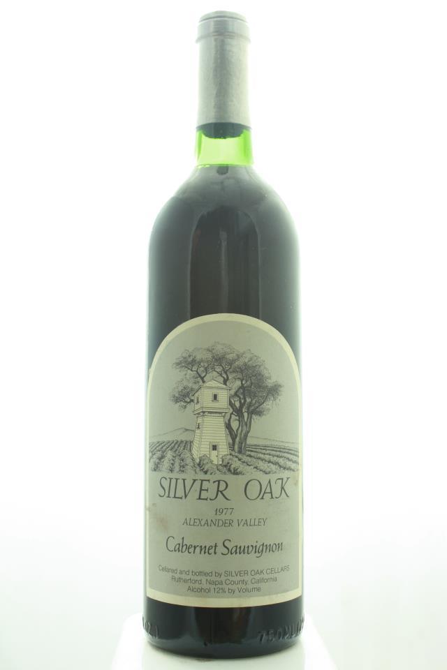 Silver Oak Cabernet Sauvignon Alexander Valley 1977
