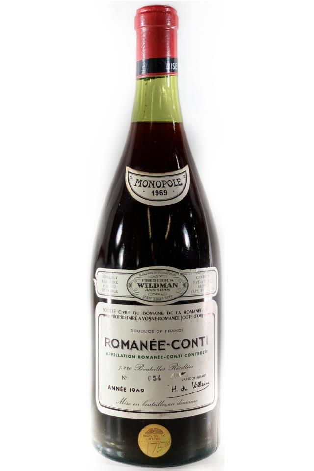 Domaine de la Romanée-Conti Romanée-Conti 1969