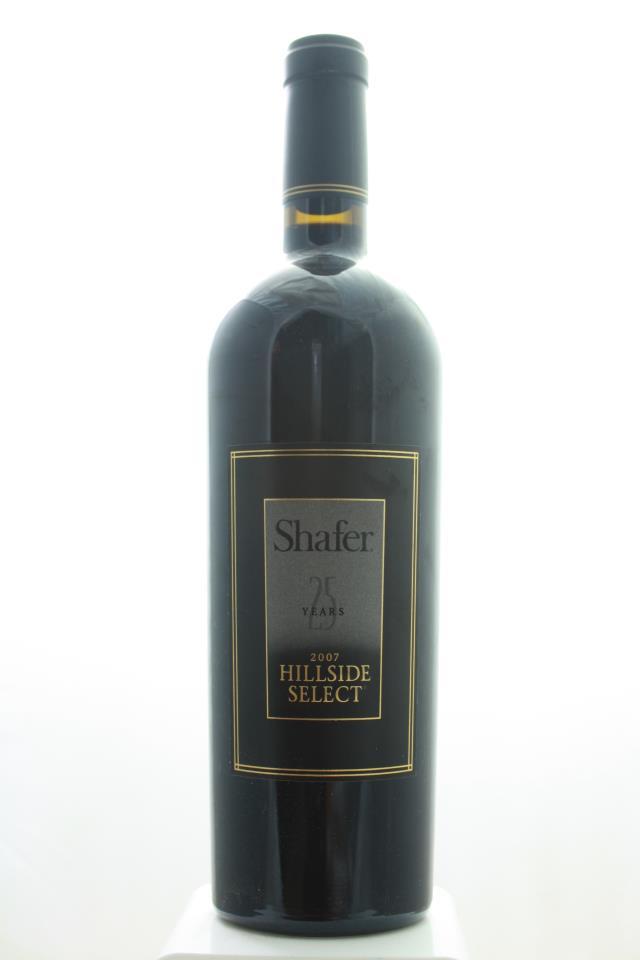 Shafer Cabernet Sauvignon Hillside Select 2007