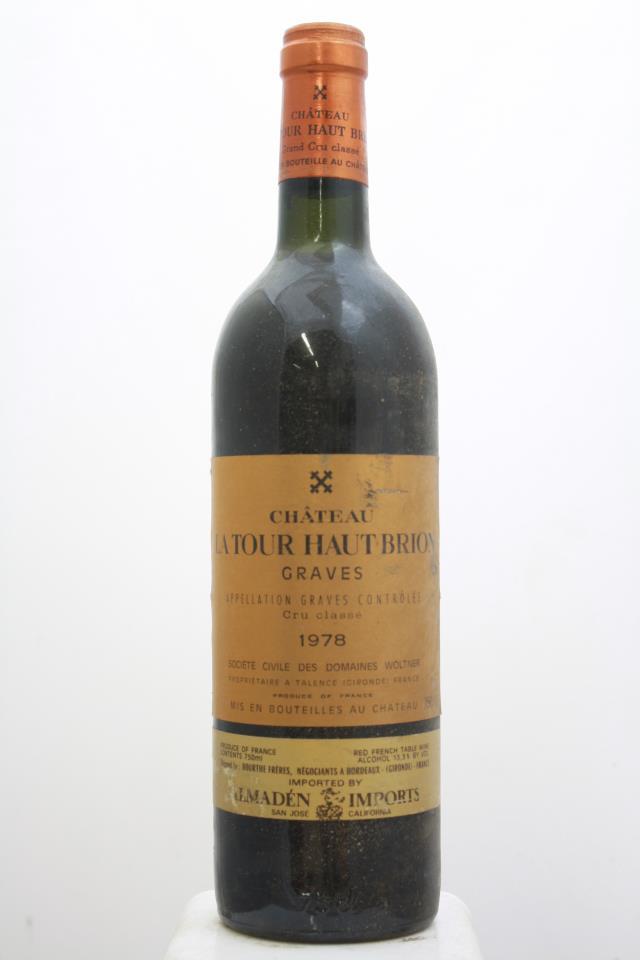 La Tour Haut Brion 1978