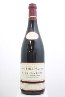 Lucien Boillot Gevrey-Chambertin Champonnet 2015