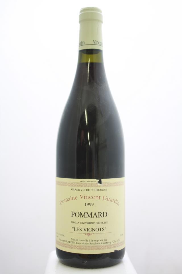 Domaine Vincent Girardin Pommard Les Vignots 1999