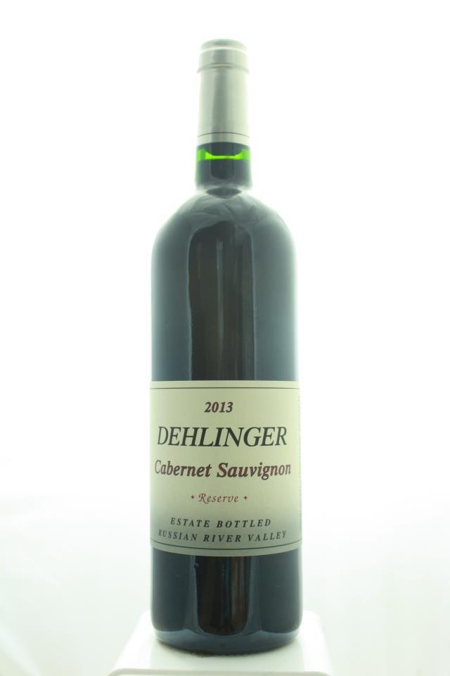 Dehlinger Cabernet Sauvignon Reserve 2013