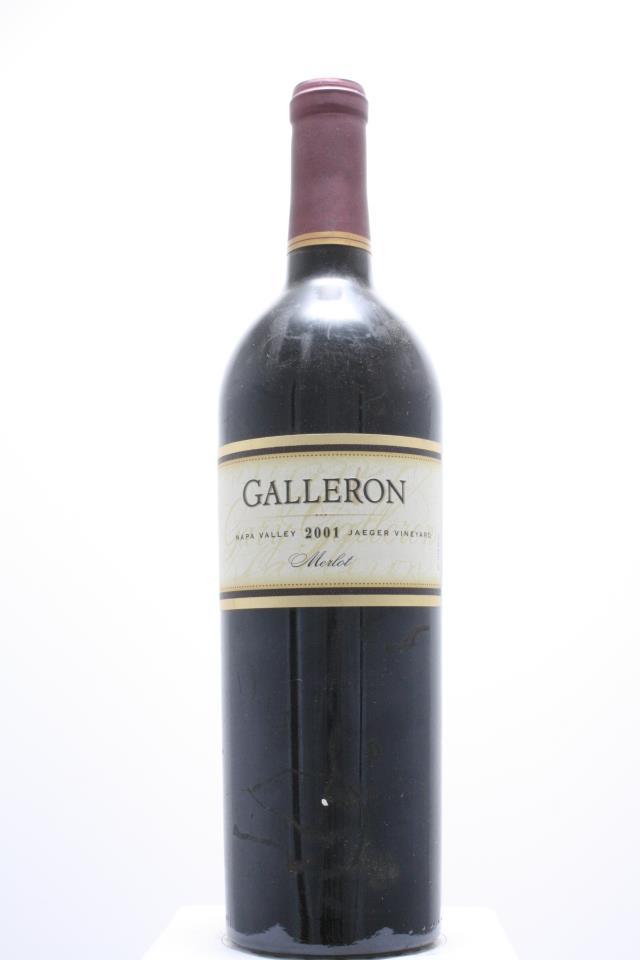 Galleron Merlot Jaeger Vineyard 2001