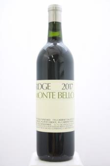Ridge Vineyards Monte Bello 2017