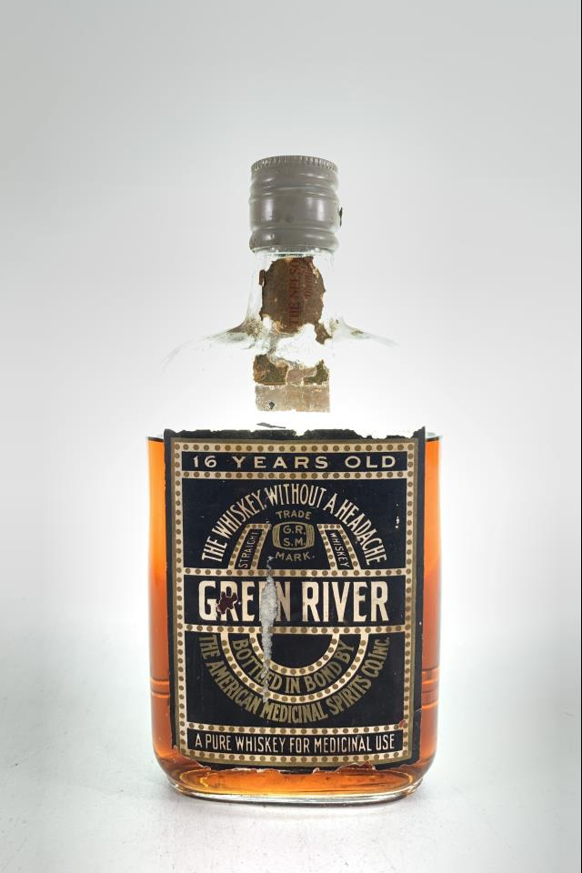 Green River Kentucky Whiskey 16-Years-Old NV