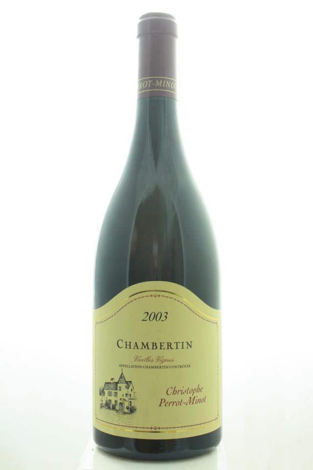 Christophe Perrot-Minot Chambertin Vieilles Vignes 2003