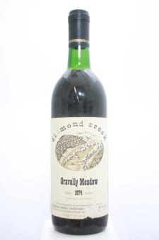 Diamond Creek Cabernet Sauvignon Gravelly Meadow 1974