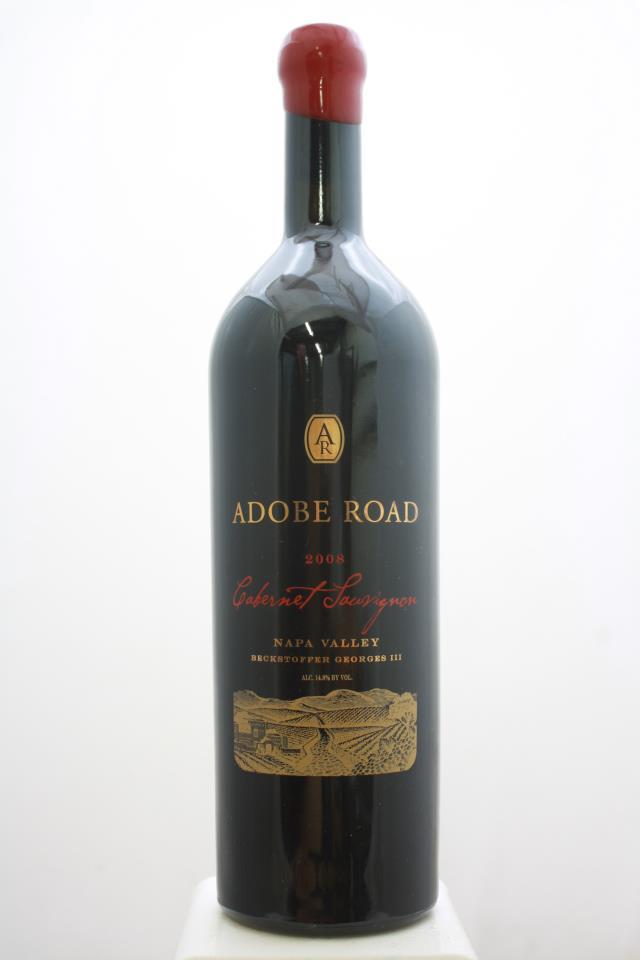 Adobe Road Cabernet Sauvignon Beckstoffer Georges III Vineyard 2008