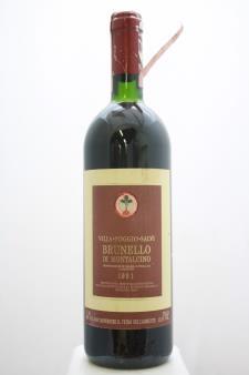 Poggio Salvi Brunello di Montalcino 1991