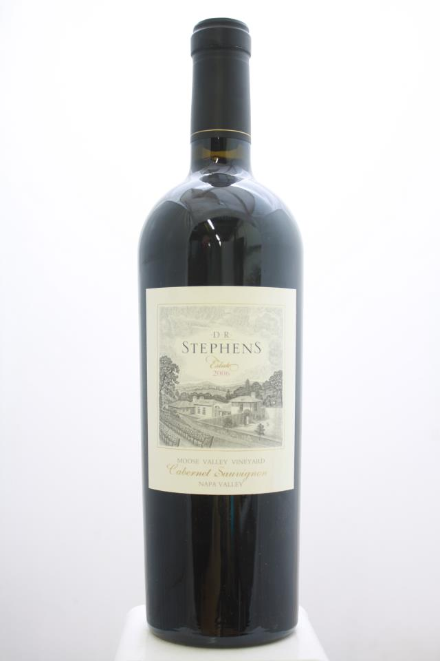 D. R. Stephens Cabernet Sauvignon Estate Moose Valley Vineyard 2006
