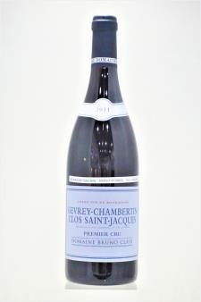 Bruno Clair Gevrey-Chambertin Clos Saint-Jacques 2011