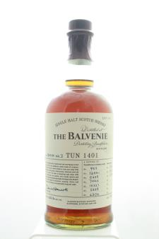The Balvenie Single Malt Scotch Whisky Tun 1401 Batch No. 3 NV