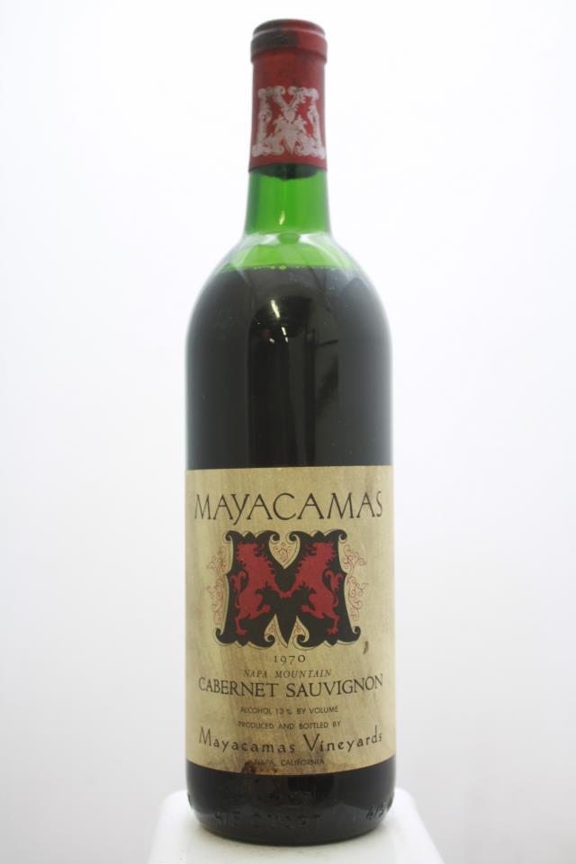 Mayacamas Cabernet Sauvignon 1970