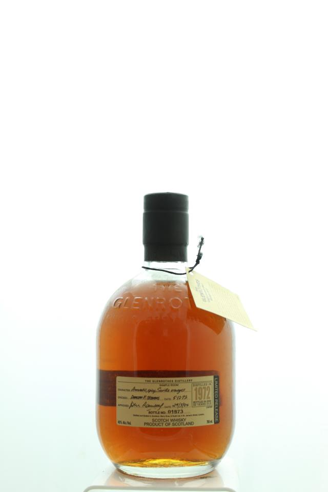 Glenrothes Single Speyside Malt Scotch Whisky 32-Year-Old 1972