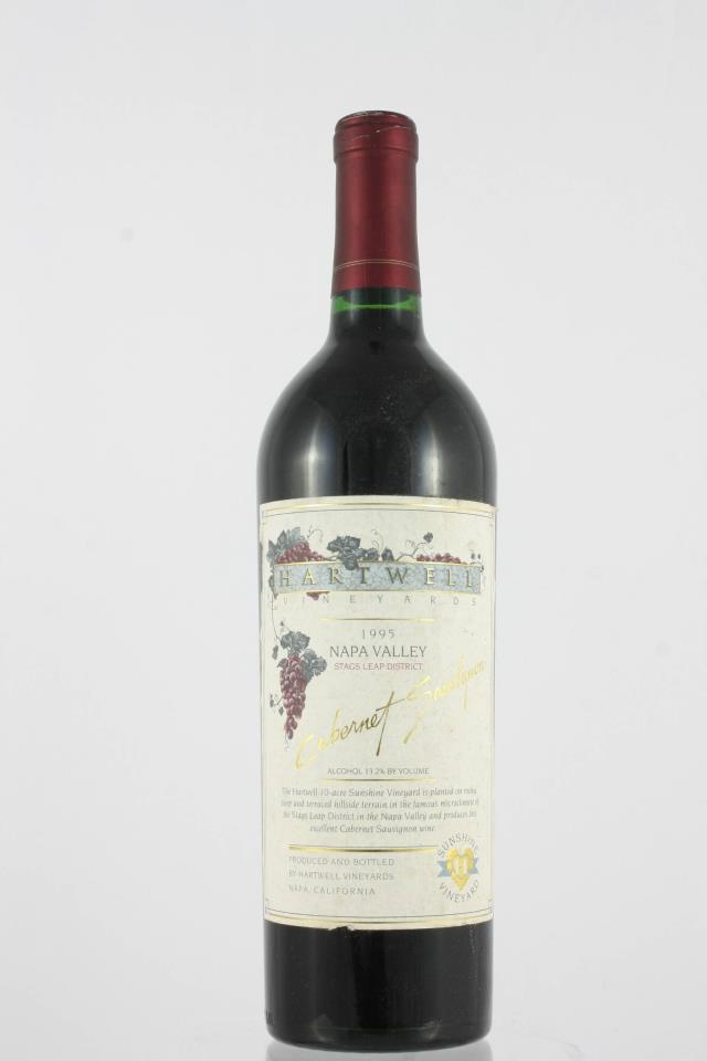 Hartwell Vineyards Cabernet Sauvignon Estate Sunshine Vineyard 1995