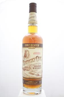 Kentucky Owl Kentucky Straight Bourbon Whiskey Confiscated The Wise Man