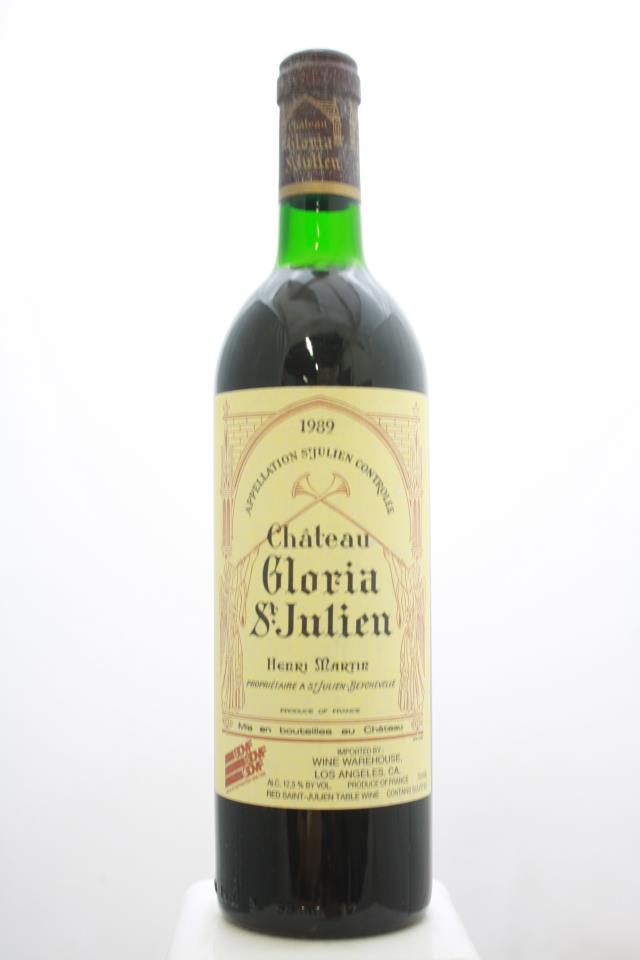 Gloria St. Julien 1989