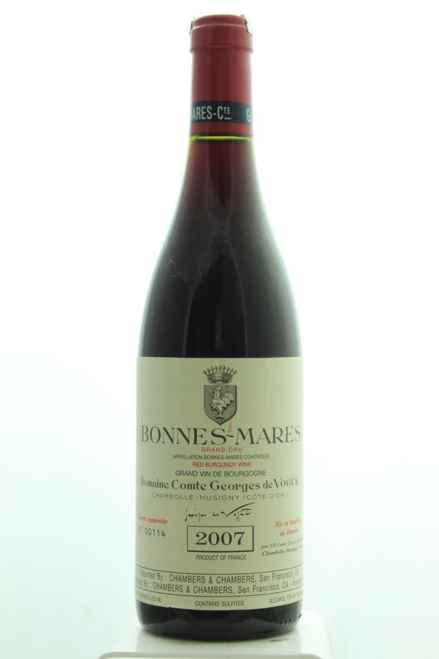 Comte Georges de Vogüé Bonnes-Mares 2007