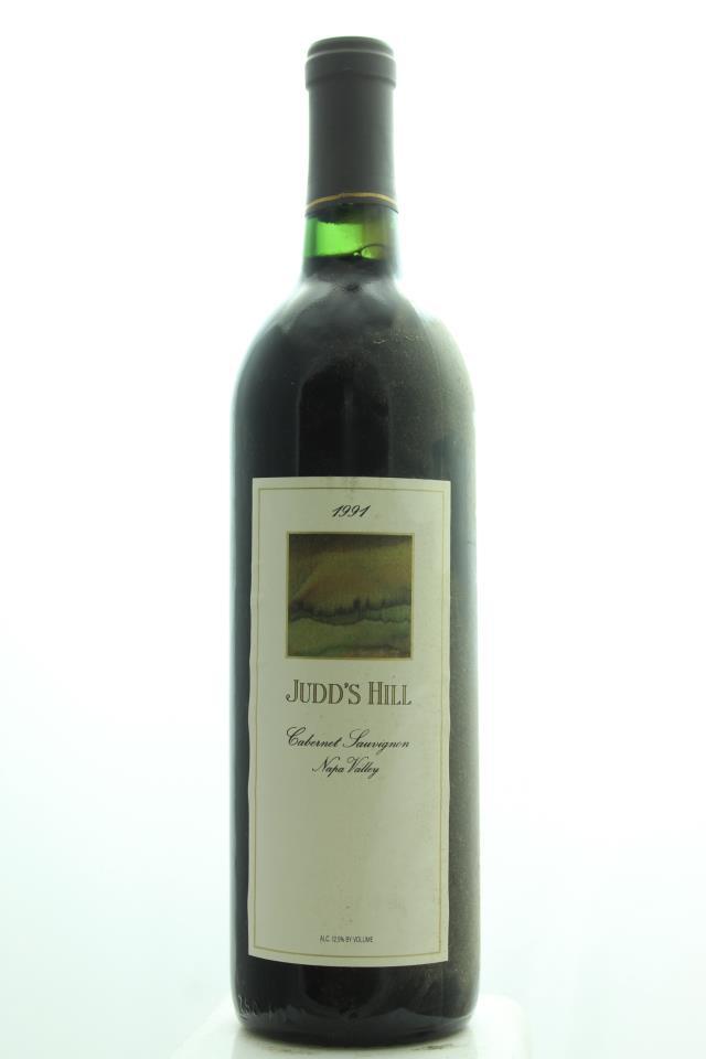 Judd's Hill Cabernet Sauvignon 1991